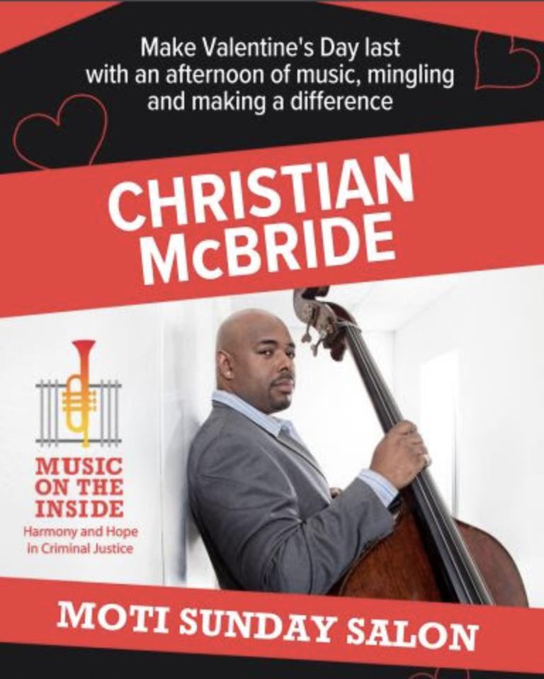 Save February 16 for MOTI and Christian McBride