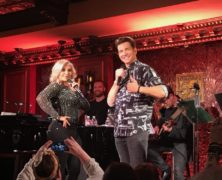 "Andy Karl and Orfeh ""Totally Rock"" 54 Below with Legally Bound"