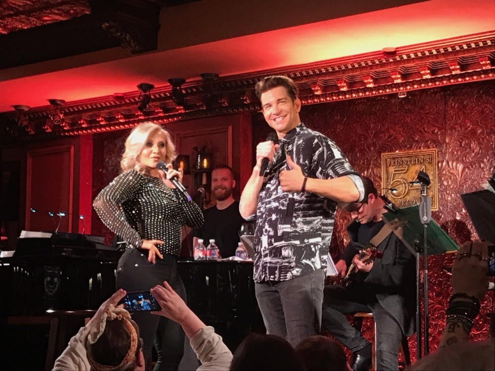 """Andy Karl and Orfeh """"Totally Rock"""" 54 Below with Legally Bound"""