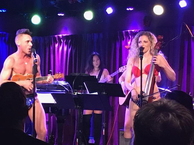The Skivvies: Bare Elegance at The Green Room 42