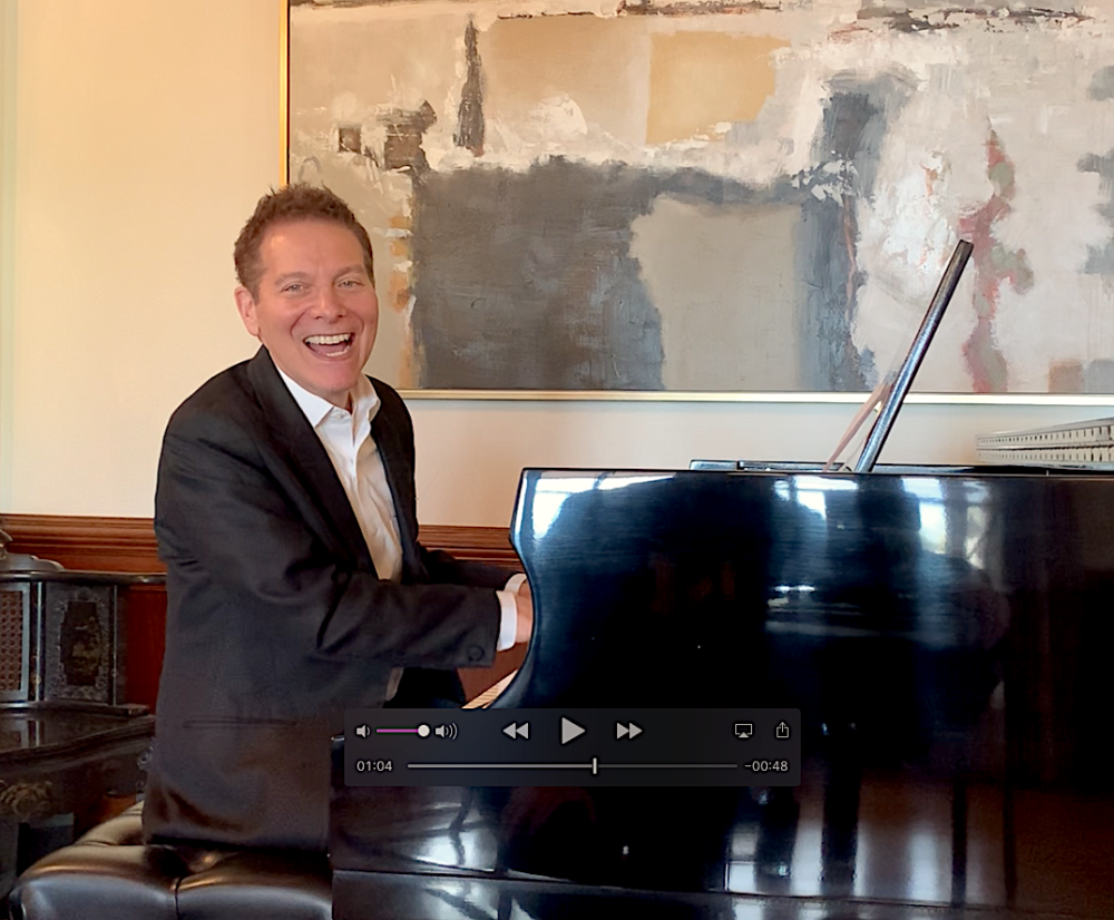 Michael Feinstein Sings for Fans, Sondheim & Theater Pizzazz