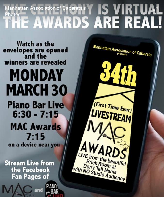 MAC Award Winners Virtually Announced