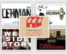 Mockingbird,West Side Story,Lehman Triology,Virginia Woolf,Mormon $50