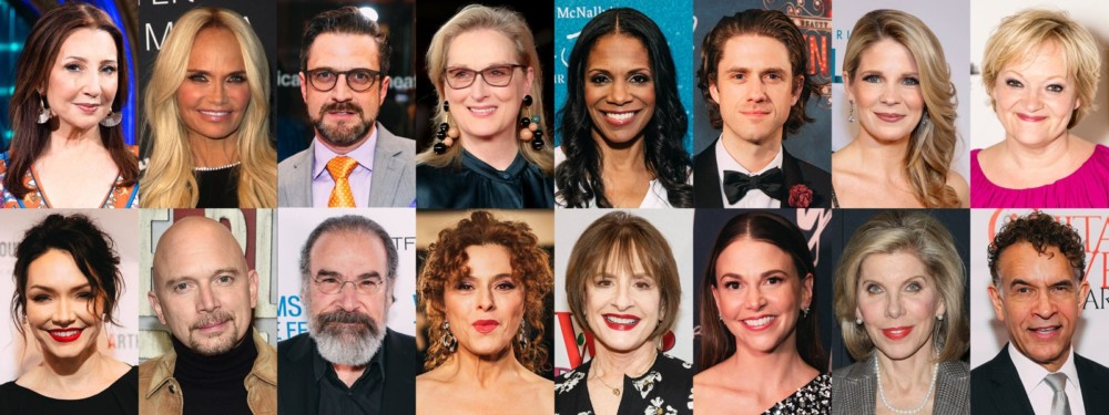 Streep, Peters, LuPone, Patinkin, Chenoweth, Stokes Live!