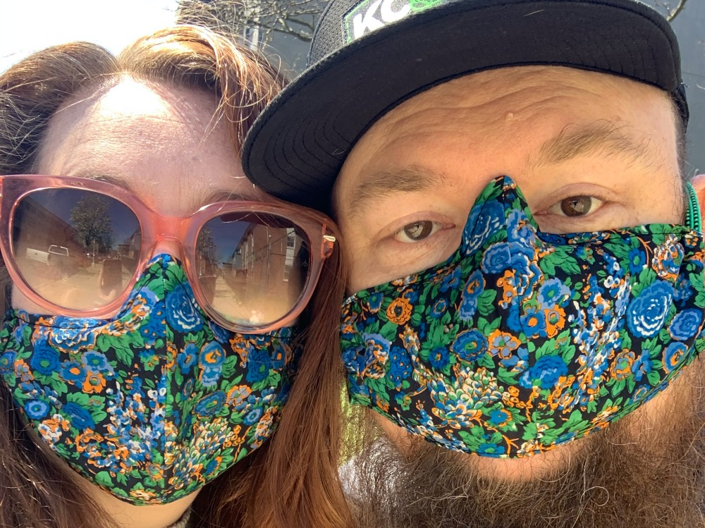Target Margin Theater Delivers Face Masks