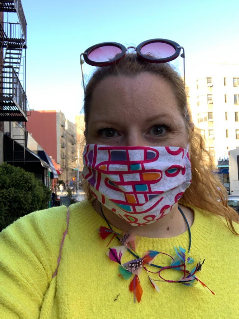 Costume Designers and URI Making Masks