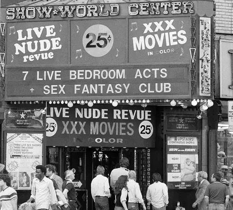 """""""SLIME SQUARE"""" FIFTY YEARS AGO, WHEN BROADWAY ALMOST DIED"""