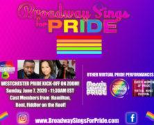 Pride's Virtual Concert Broadway & Off Sing June 7 on Zoom