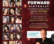 Steppin' Forward Benefit Celebrating the Music of Neil Sedaka