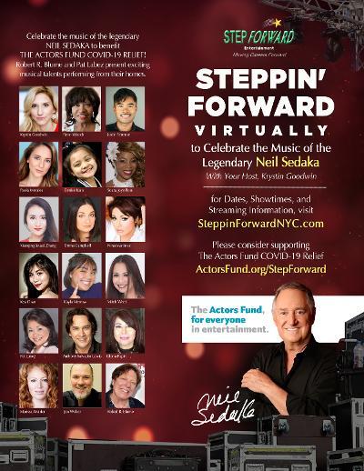 Steppin' Forward Benefit Celebrating the Music of Neil Sedaka