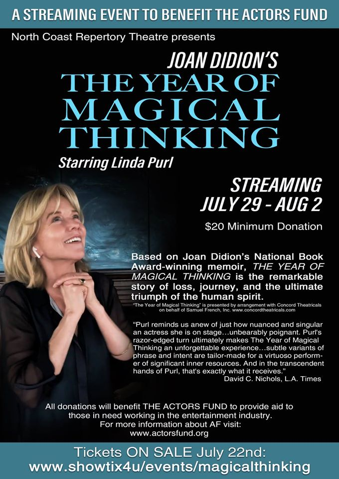Linda Purl 'The Year of Magical Thinking' Benefit