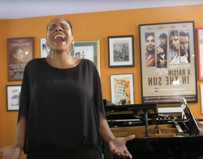 """Audra McDonald Urges Us to """"Sing Happy"""""""