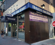 Indoor Dining? Theatre Row Diner Closes