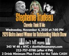 Stephanie Trudeau Cancels