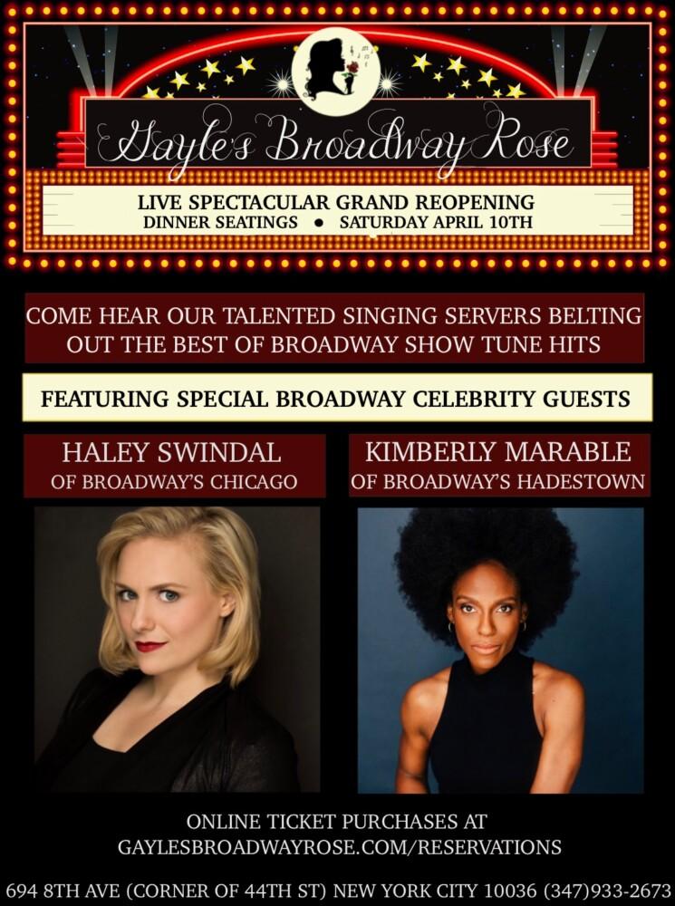 Gayle's Broadway Rose