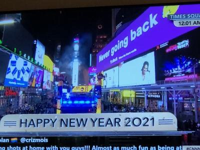 Happy New Year 2021 is Here!