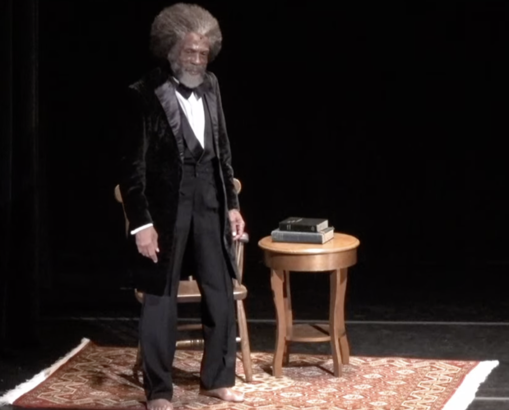 André De Shields Is Frederick Douglass