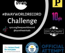Guinness World Records Help Actors Fund