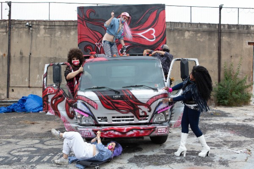 The Beardmobile in Philly