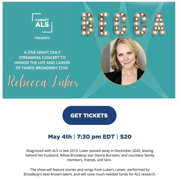 Honoring Rebecca Luker