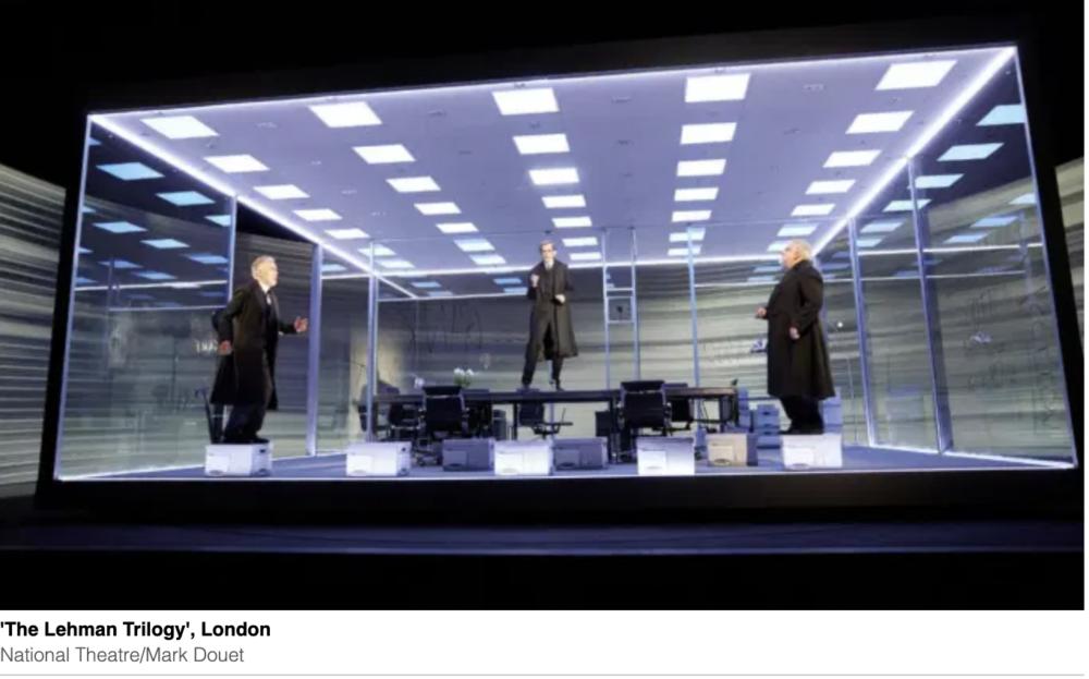 The Lehman Trilogy Returns to Broadway