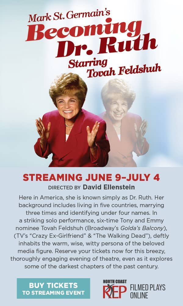 Dr. Ruth Comes Alive with Tovah Feldshuh