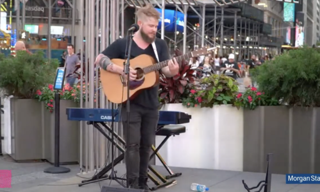 Broadway Buskers Continues in Times Square