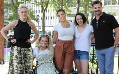 Broadway Stars Come Out for BroadwayEvolved's Bryant Park Show