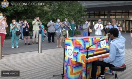 SING FOR HOPE PIANOS RETURN TO 28 LIBERTY PLAZA