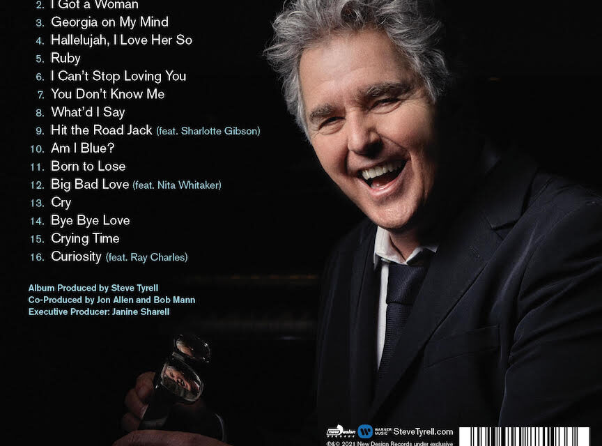 Steve Tyrell's Newest Album 'Shades of Ray'