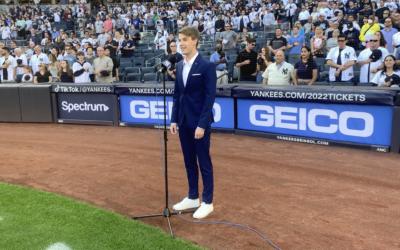 Mark William Sings Live at Yankee Stadium