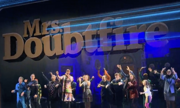 First Preview Performance Mrs. Doubtfire